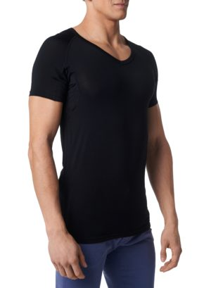 Tričko pod košeľu proti poteniu Gobi - Čierné